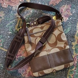 Signature Coach CrossBody Purse